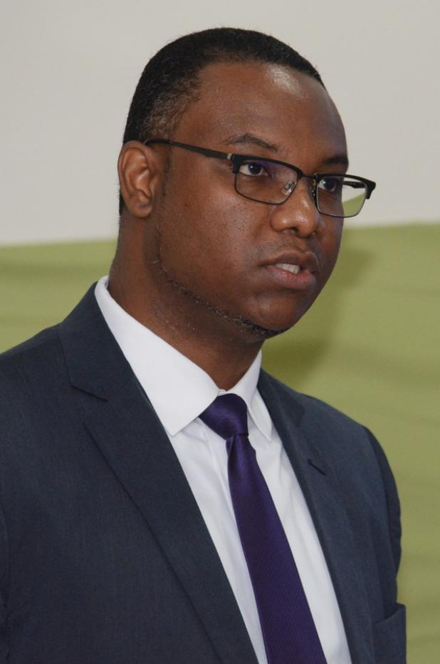 Dr. Richard Brown, Director, CARICOM Single Market and Sectoral Programmes CARICOM Secretariat. (Photo via Barbados Advocate)