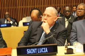 PM Allen Chastanet of Saint Lucia