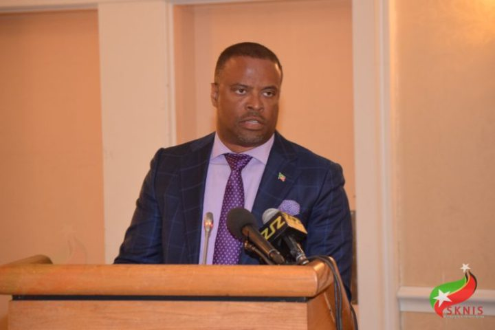 The Hon. Mark Brantley, Premier of Nevis and Minister of Foreign Affairs and Aviation in the Federal Government (Photo via SKNIS)