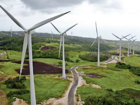 Wigton Wind Farm (Photo via Jamaica Gleaner)