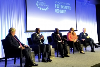 Clinton Global Action Network on post-disaster recovery launched with CARICOM participation