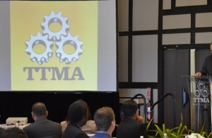 CARICOM SG addressing TTMA AGM