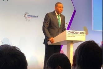 Need for climate change financing in SIDS highlighted at CHOGM 2018