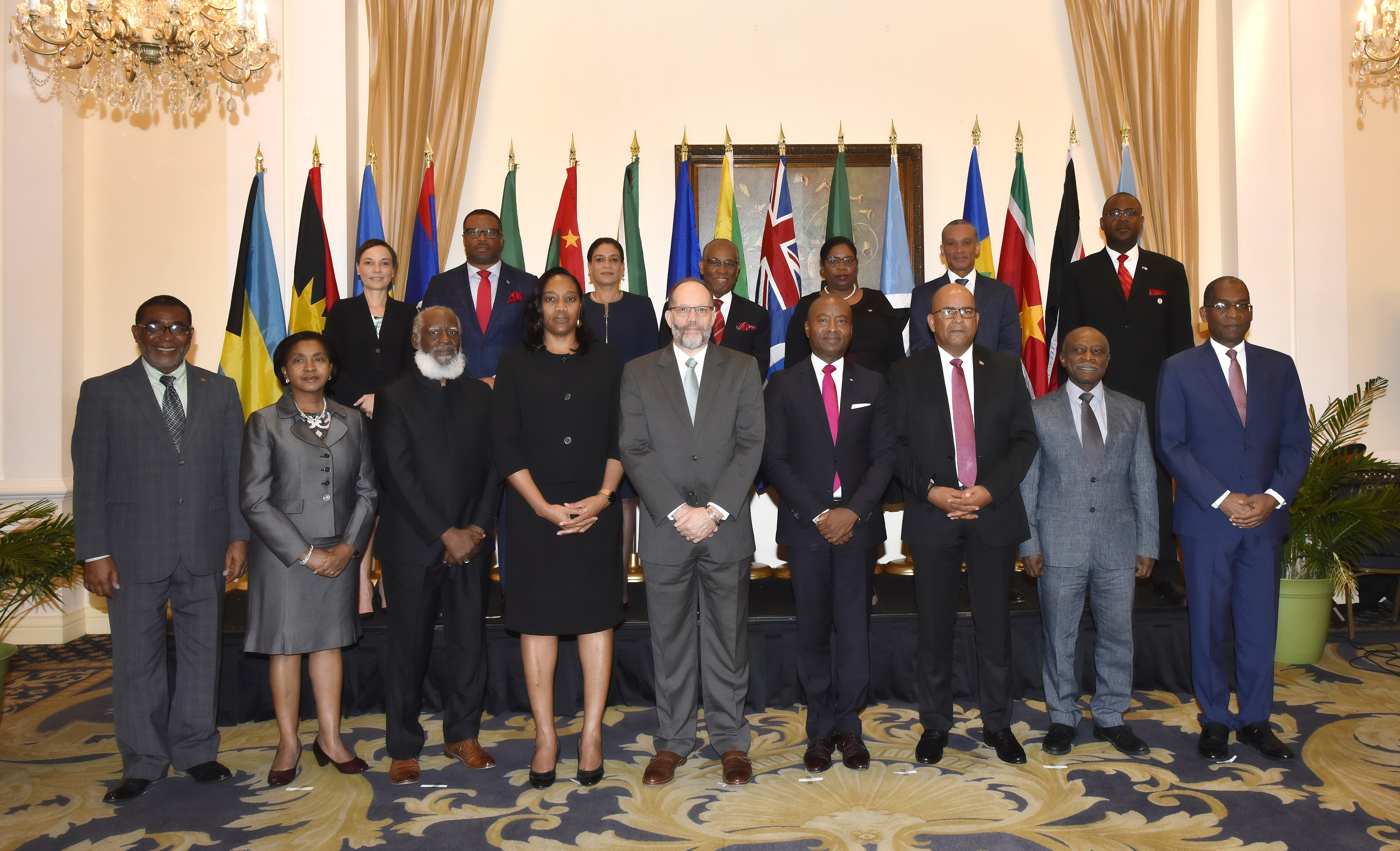 Foreign Ministers and other Heads of Delegation at the COFCOR Meeting