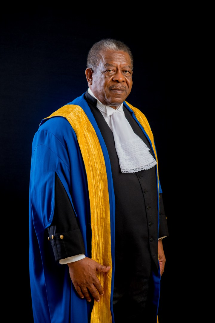 Sir Dennis Byron, President of the CCJ