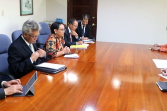CARICOM Secretary-General receives Indonesia's Foreign Minister