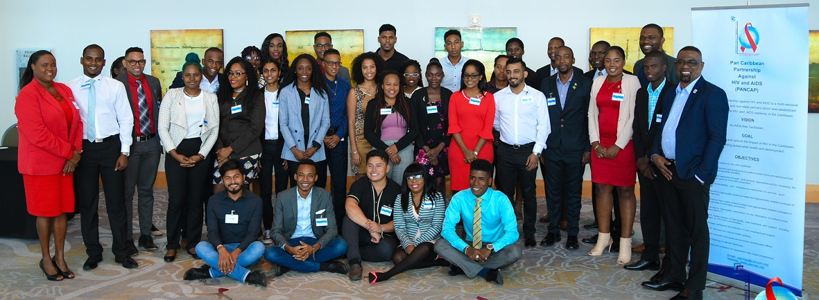 Director of pancap mr dereck springer with participants of second regional meeting of youth leaders  - 18