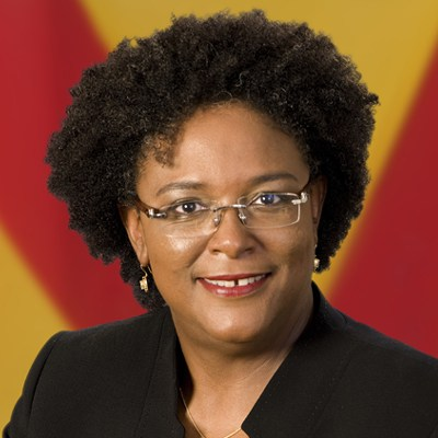New Barbados Prime Minister Mia Mottley