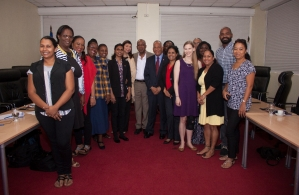 Participants of the PANCAP knowledge exchange in the Dominican Republic