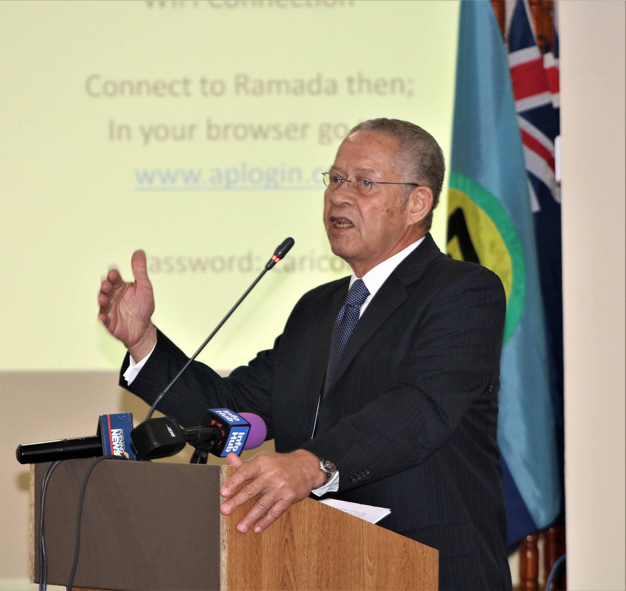 Former Prime Minister of Jamaica, Mr. Bruce Golding