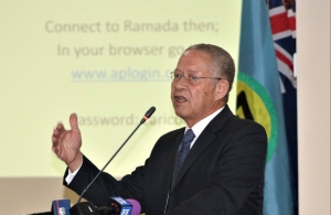 Former Prime Minister of Jamaica, Mr. Bruce Golding