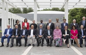 CARICOM Secretary-General (5th from left, front row)