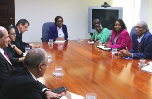 CARICOM Secretariat and Cuban Government representatives