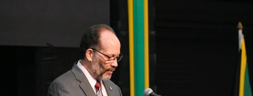 CARICOM SG, Amb. Irwin LaRocque, Opening, 39th Meeting, Conf. of Heads of Govt. of CARICOM