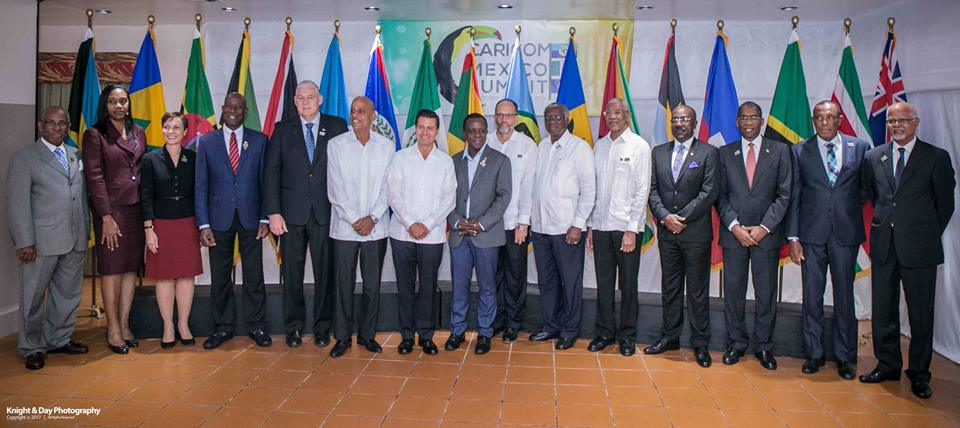 Flashback to CARICOM Mexico Summit 2017