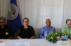 Head Table at the Belize Meeting