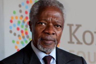 Technology can improve the state of the world: Kofi Annan