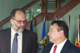 CARICOM Secretariat and TnT Ministers hold talks