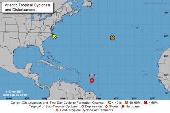 Eastern Caribbean bracing for strengthening Tropical Storm Kirk