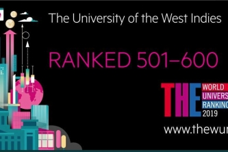 New Rankings put The UWI among top 5 percent of best Universities in the world