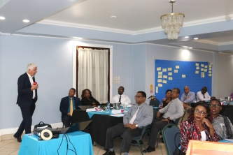NAO Representatives of CARIFORUM States, regional organizations being trained to implement EDF-funded projects