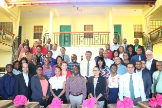 CARIFORUM DG urges training participants to use what they have learnt in their jobs