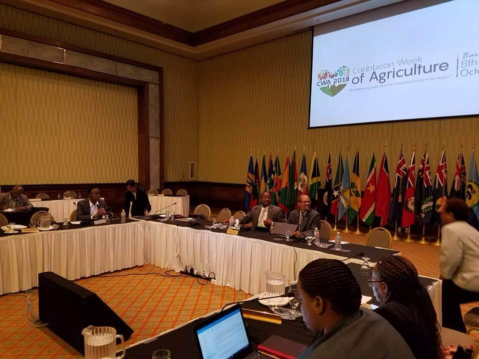 CRFM Ministerial Council meeting during Caribbean Week of Agriculture, which concluded on Friday
