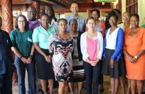 Meeting Participants - Ambassador  Granderson is 8th from left