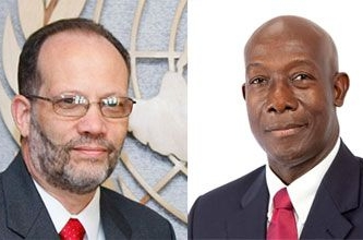 Secretary General meets with Prime Minister Rowley in advance of CSME Special Meeting