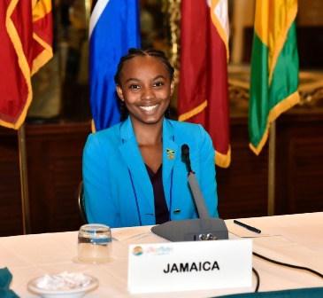 Ms. Bryanna Hylton (Photo via SKN Pulse)