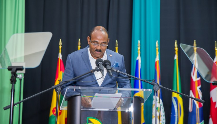 The Hon. Gaston Browne, Prime Minister of Antigua and Barbuda (Photo via CDB)