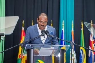 The Hon. Gaston Browne, Prime Minister of Antigua and Barbuda (Photo via CDB)