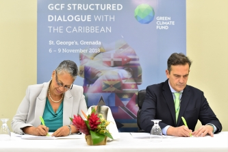 Green Climate Fund affirms its partnership with CDB