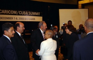 Flashback: Fidel Castro at CARICOM Cuba Summit in Barbados, 2005