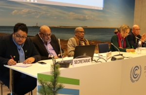 Part of the Regional Team at Climate Change conference in Poland