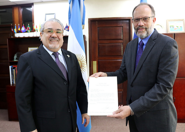 CARICOM Secretary General receives Letters of Credence from Ambassador Gardella