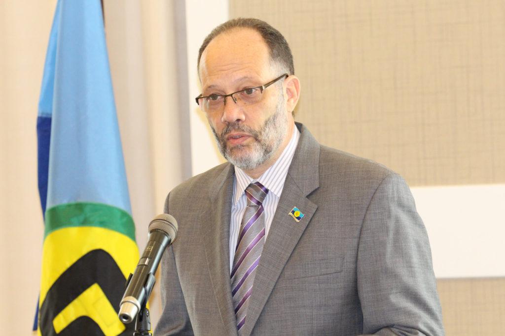 Secretary-General Ambassador Irwin LaRoocque