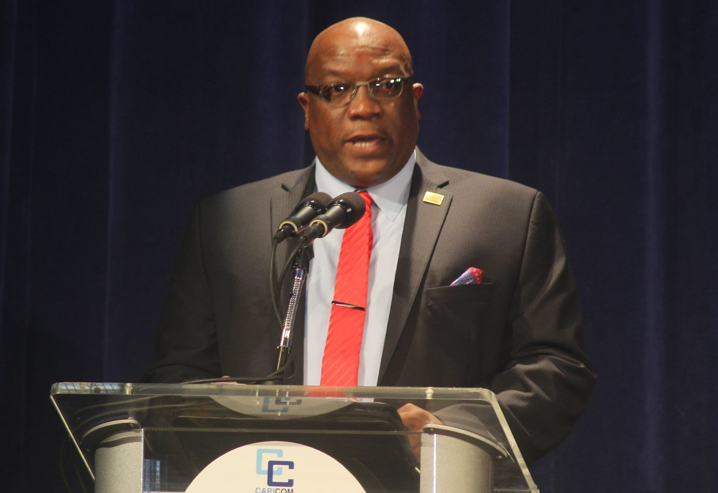 Prime Minister Dr Timothy Harris of St Kitts and Nevis