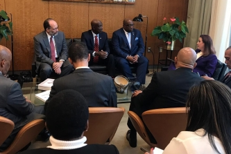 Statement on second day of visit to the UN by Delegation of CARICOM Member States