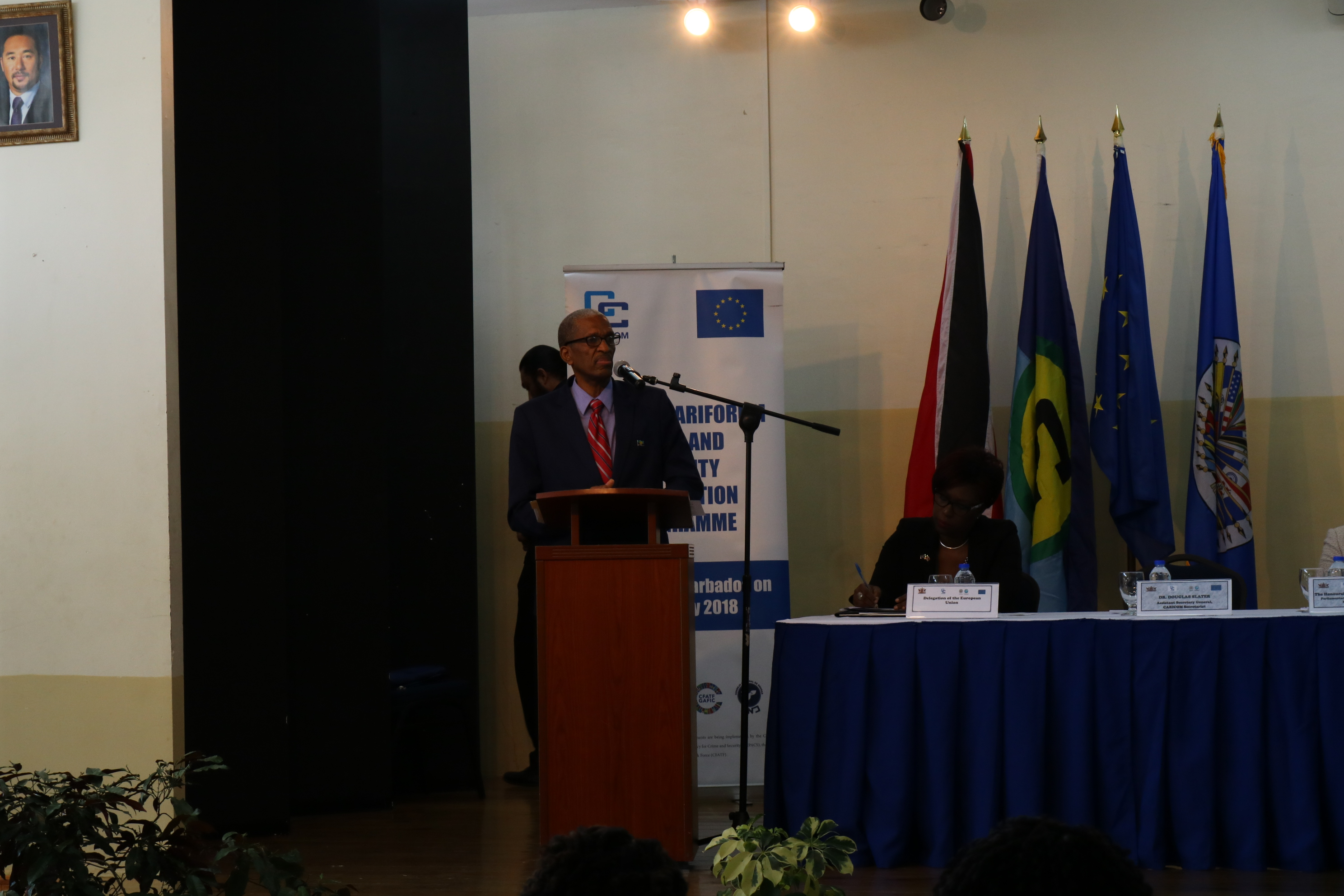 CARICOM Secretariat Assistant Secretary-General  for Human and Social Development, Dr. Douglas Slater