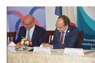 CARPHA and French Development Agency Sign Agreement to Strengthen Regional Health Security