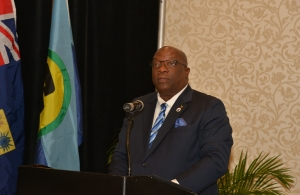 Hon. Timothy Harris, Prime Minister of St. Kitts and Nevis and Chairman of the Caribbean Community