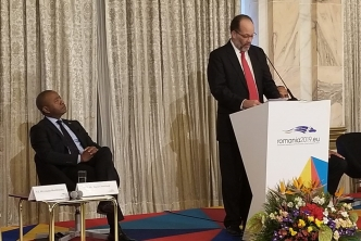 CARICOM Secretary-General highlights Region's Climate Change and EU Blacklisting concerns at International Conference in Romania