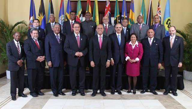 CARICOM Heads of Government; CARICOM Secretary-General and Heads of Delegation of CARICOM Member States