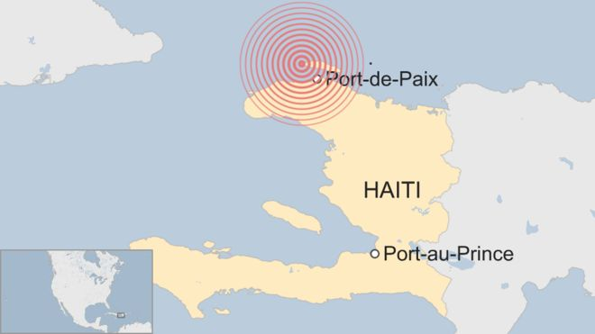 Photo of Haiti struck by deadly earthquake