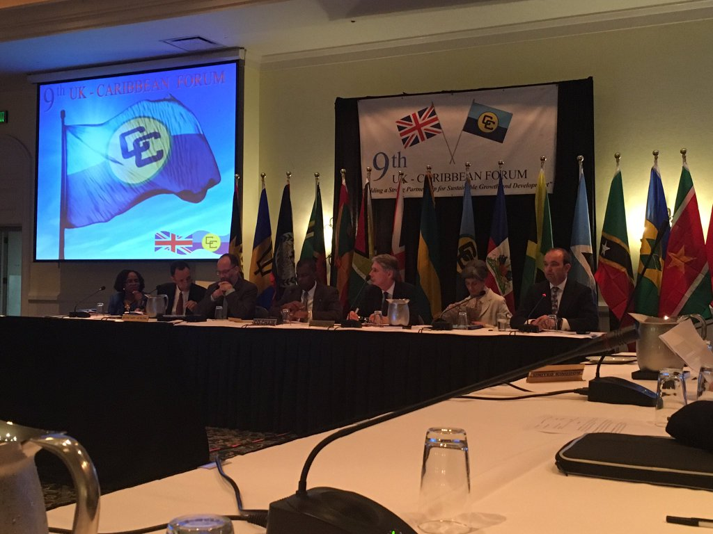"""Photo of Ninth UK-Caribbean Ministerial Forum  """"Building a Stronger Partnership for Sustainable Growth and Development"""""""