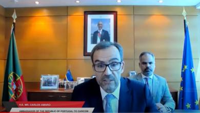 Photo of Remarks by Ambassador of Portugal to CARICOM H.E. Carlos Amaro