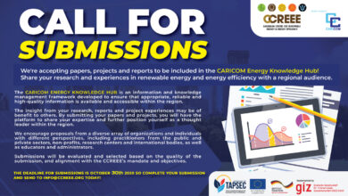 Photo of Call for submissions – CARICOM Energy Knowledge Hub!