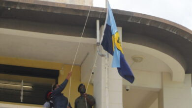 Photo of CARICOM Flag Raised At Barbados Government Headquarters