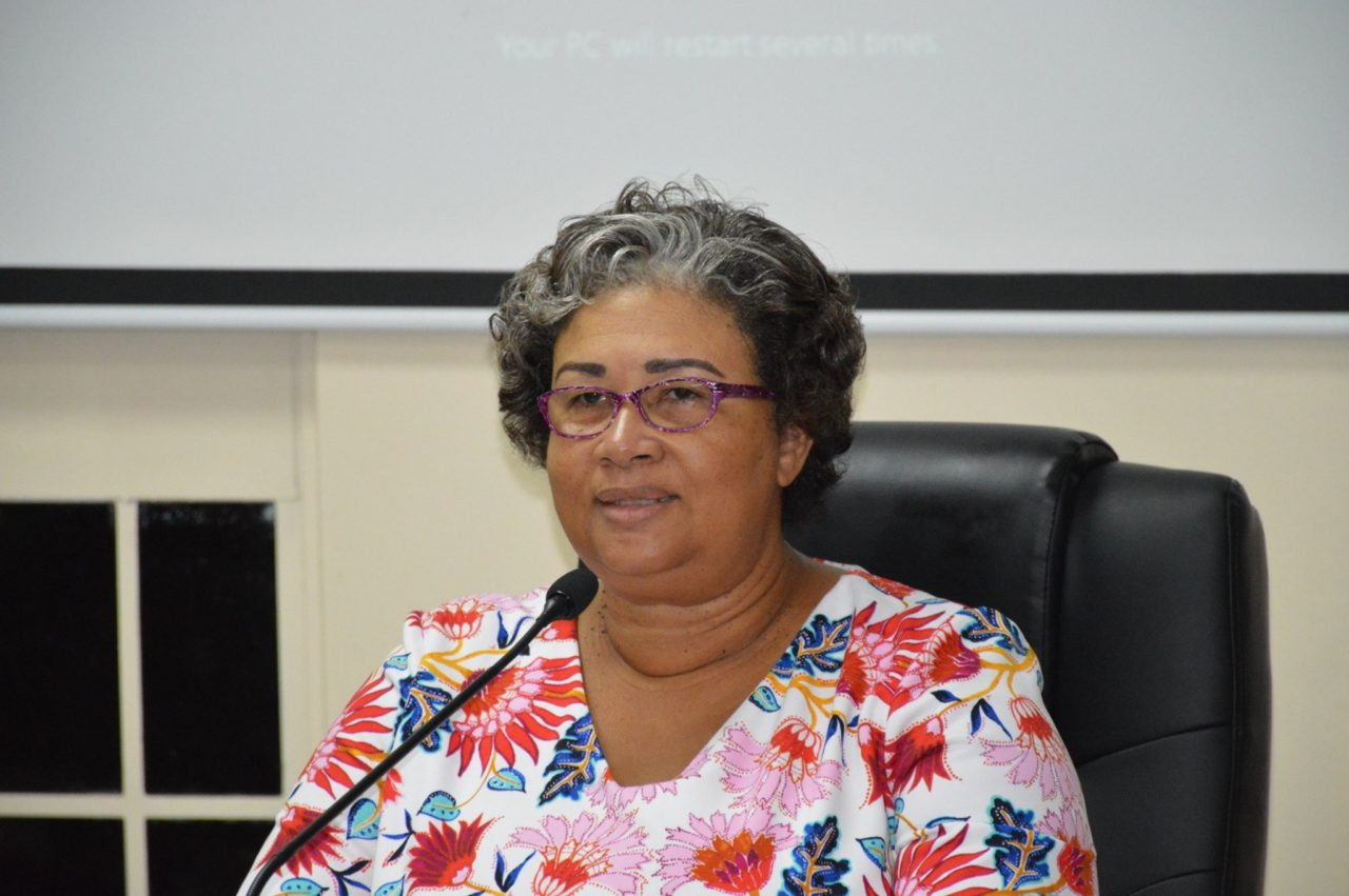 CARPHA Executive Director, Dr Joy St John